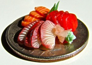 Sashimi on a Quarter