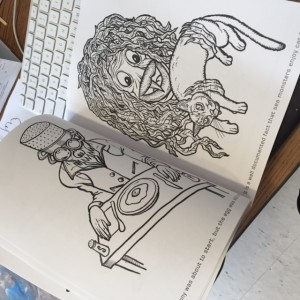 Jaraveda's coloring book inspired by Michael Gump!